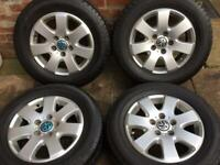 """16"""" VW Transporter T6 T5 Alloy Wheels Tyres for sale"""