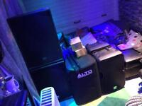 Alto active speakers subs and tops