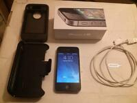 16gb iPhone 4s with Bell  Works great just switched providers