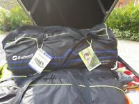 Tent, Outwell Concorde L Smartair and extension