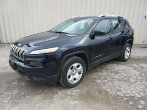 2015 Jeep Cherokee Sport 4dr 4x4