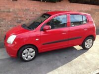 KIA PICANTO 1L 2006 REG, LONG MOT, FULL SERVICE HISTORY, NEW CLUTCH, HPi CLEAR (CHEAP INSURANCE)