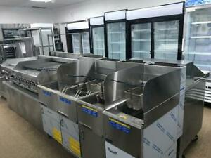 COOLERS, FREEZERS, FRIDGES, PREP TABLES, GRILLS, OVENS, RANGES, KITCHEN, CAFE, BAR, GROCERY STORE, RESTAURANT EQUIPMENT
