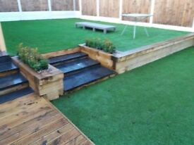 Fencing, Driveways, Turf, Artificial Turf, Walling, Patios, Landscaping, Mini Digger, Groundworks