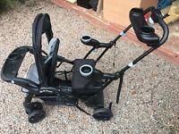 Sit and stand stroller buggy pram toddler older kids
