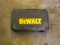 Dewalt 3.6 volt screwdriver with charger, 2 batteries and case. £20 phone 07917037773