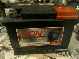 For sale car battery