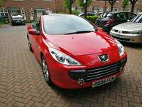 Peugeot 307 CC, 2.0 Petrol, Convertible, 2006, with low mileage. Service history. Great price!