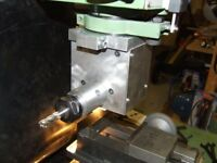 MILLING MACHINE, RIGHT ANGLED MILLING ATTACHMENT