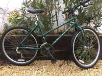 Raleigh Atlanta ladies bike 18 inch frame very good condition and works well