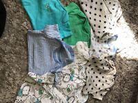 Bundle of baby boy cloths 3-12months