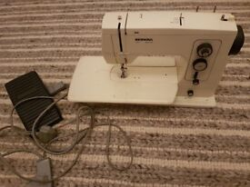 Bernina 801 sewing machine complete with extension table in full working order