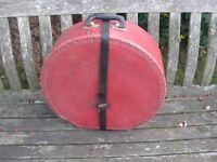 Drums - Vintage Premier Snare Drum Case - Red