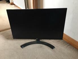 "LG IPS LED 24"" Monitor Display Screen HDMI DVI D-SUB Black"