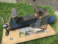 Large heavy duty record quick release vice