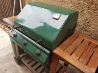 Gas Barbecue + Canister + Cover Low price £30.00 O.N.O