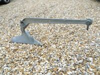 15 kg (35lbs) CQR Anchor. Galvanised. little used. no rust