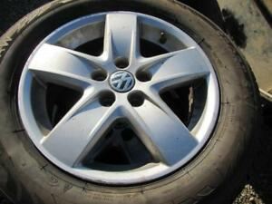 4---195/65R15 Winter Tires on 15 in Volks Alloys-5 x 100mm