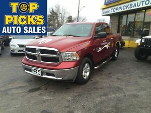 2014 Ram 1500 SLT CREW CAB, 4X4, ALLOY WHEELS, 5.7 HEMI, CLEAN C