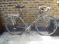 Classic vintage Romany Touring bicycle, Reynolds 531ST throughout (higher specced than Dawes Galaxy)