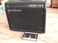 Mesa Boogie F50 combo guitar amp + optional footswitch and cover