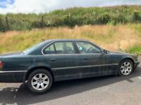 BMW 740i E38 2001 breaking for spares