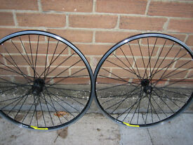 MATCHING PAIR 26'' ALEXRIMS EXCELLENT CONDITION OR SWAP