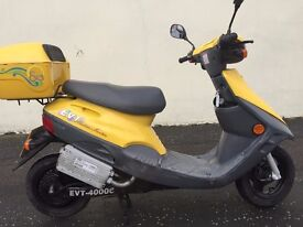 2004 EVT 4000E ELECTRIC SCOOTER VERY CLKEAN ,FREE TAX,28 MPH,DISTANCE FULL CHARGE 25 MILES £475