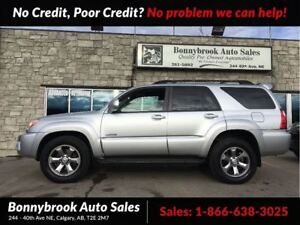 2007 Toyota 4Runner V6 Limited LEATHER HEATED SEATS P/SUNROOF 4X