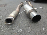 Subaru Impreza Newage/Bugeye Stainless Steel Sports Exhaust 3""