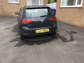 VW Golf SE Bluemotion TECH TDi, 5 door hatchback, 1.598 cc, Grey - £10,250