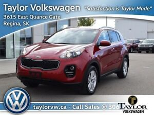 2018 Kia Sportage LX AWD Like New !! 5 Year/100,000 KM Factory W