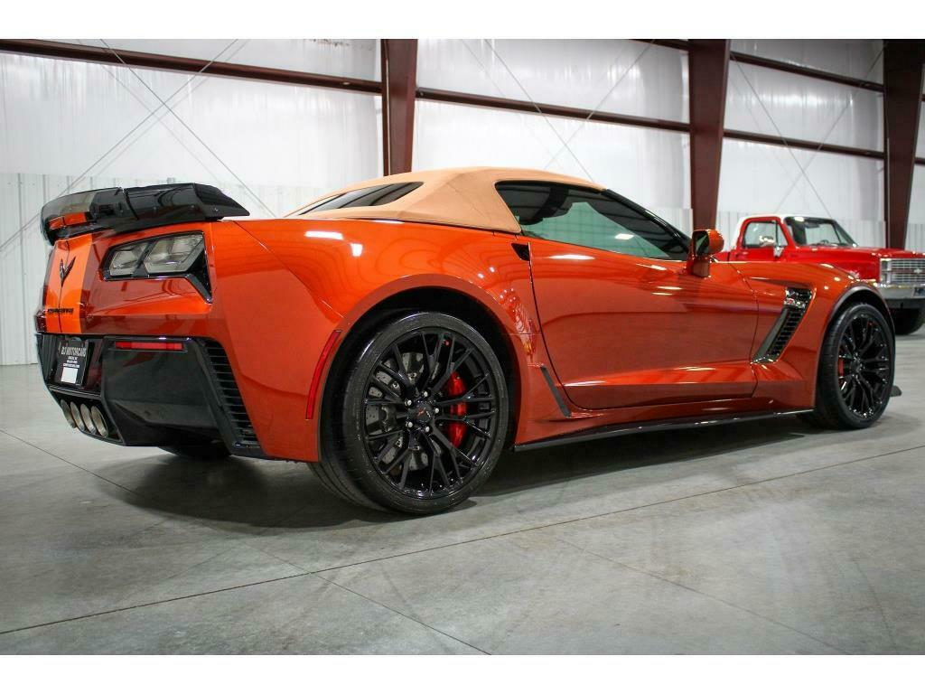 2016 Daytona Sunrise Chevrolet Corvette Z06 3LZ | C7 Corvette Photo 4