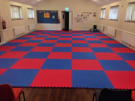 25 x 20mm Jigsaw Mats 1m2 Best UK Prices, FREE 24hr Delivery, For Taekwondo, Kickboxing, Karate, MMA