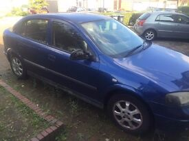 Blue vauxhall astra (automatic) 1.6 2005