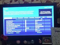 """50"""" Panasonic TV perfect working order"""