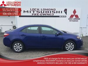 2014 Toyota Corolla S, ONLY 15, 000 KM. TOYOTA QUAILTY, POWER GR