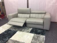 Natuzzi Editions Forza/Club/B790 3 seater power recliner sofa