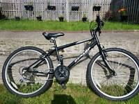 """Mountain bike 24"""" wheels 18speed ages 12 and over"""