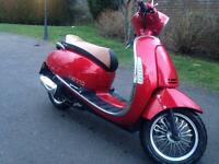 STUNNING LEXMOTO 125 MOPED GREAT EXAMPLE may p/ex swap