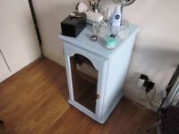 lovely small cabinet with a vintage colour