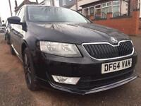 SKODA OCTAVIA BLACK EDITION (2015)15K MILES CAT D REPAIRED BARGAIN
