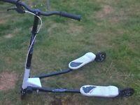 Flicker scooter white