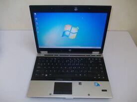 HP 8440P ELITEBOOK LAPTOP INTEL CORE i7 2.67GHZ 250GB 4GB WEBCAM WIN 7