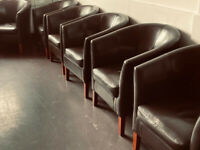 10 TUB CHAIRS