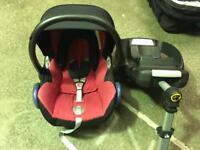 Maxicosi car seat & isofix family base