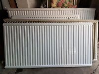 Set of various sized radiators