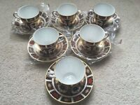 Royal Crown Derby Imari 1128 Full Tea Set First Quality Brand New