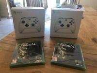 Xbox one white wireless controller boxed unused
