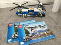 Lego 4439 heavy duty police helicopter